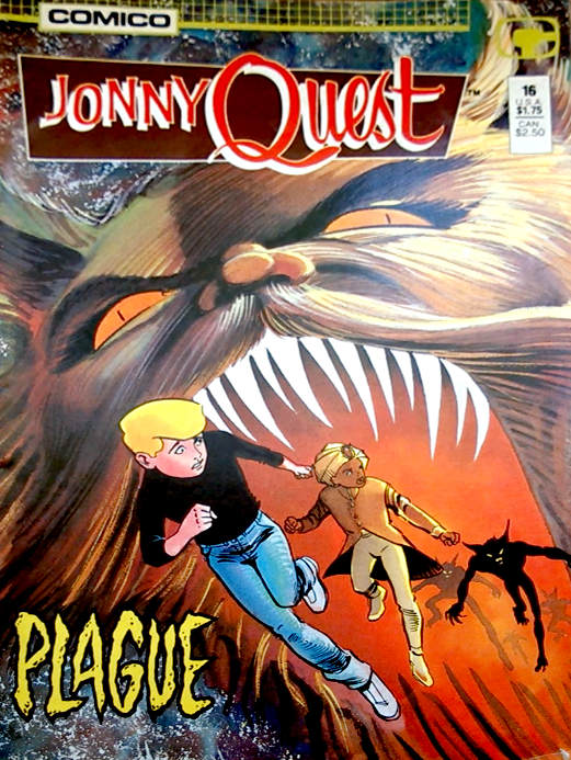 Book Cover Craft Quest ~ Jonny quest cool comic book covers